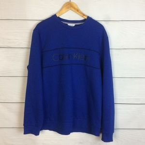 Calvin Klein XL Crew Neck Logo Sweater